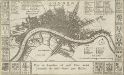London before the fire in 1666